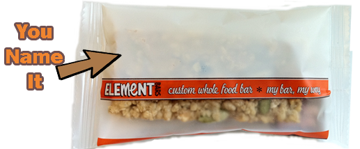 Blank Custom Energy Bar Label